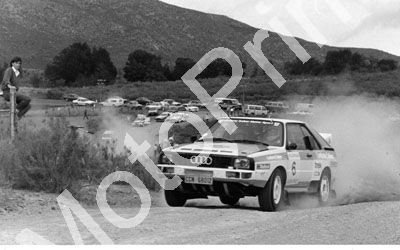 1988 VW Algoa Rally Evertse Harding Quattro 077