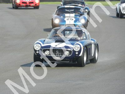 1 a wet parade lap Stirling Moss Rob Walker livery Ferrari 250GT SWB (10)