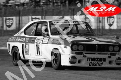 (permission Malcolm Sampson Motorsport Photography) 1976 Wynns 1000 11 Mazda Capella vd Linde Burford (42) LOGO NOT ON PHOTO SOLD
