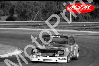 (permission Malcolm Sampson Motorsport Photography) 1976 Wynns 1000 29 Escort 1300GT Roos Taylor(20) LOGO NOT ON PHOTO SOLD