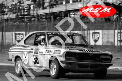 (permission Malcolm Sampson Motorsport Photography) 1976 Wynns 1000 38 Mazda RX2 Hepburn Swanepoel(17) LOGO NOT ON PHOTO SOLD