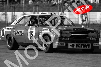 (permission Malcolm Sampson Motorsport Photography) 1976 Wynns 1000 15 Cortina V6 MacIntosh Boddy(10) LOGO NOT ON PHOTO SOLD