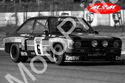 (permission Malcolm Sampson Motorsport Photography) 1976 Wynns 1000 6 Escort 1800 Heyer Ludwig (15) LOGO NOT ON PHOTO SOLD