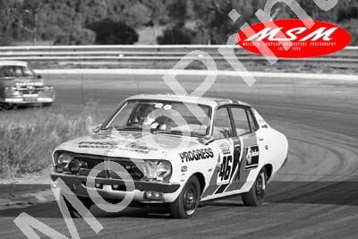 (permission Malcolm Sampson Motorsport Photography) 1976 Wynns 1000 46 Datsun 140Y J Charlton A Charlton (1) LOGO NOT ON PHOTO SOLD