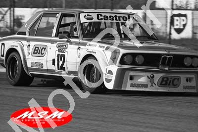(permission Malcolm Sampson Motorsport Photography) 1976 Wynns 1000 12 BMW 530 Lavoipierre Martin (35) LOGO NOT ON PHOTO SOLD