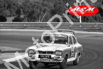 (permission Malcolm Sampson Motorsport Photography) 1976 Wynns 1000 53 Escort 1600GT Rodd Kruger(44) LOGO NOT ON PHOTO SOLD