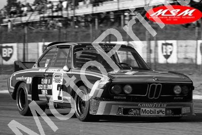(permission Malcolm Sampson Motorsport Photography) 1976 Wynns 1000 2 BMW 3.0CSL J Scheckter, Grohs, Nillson (39) LOGO NOT ON PHOTO SOLD
