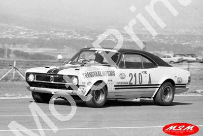 1970 Star prod A210 Holden Monaro Dirk Marais (permission Malcolm Sampson Motorsport Photography)