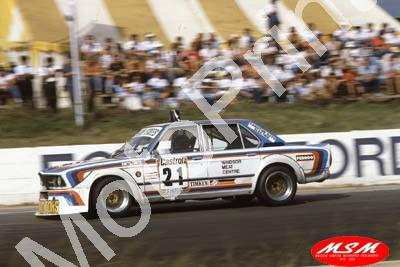 1982 9hr 21 BMW 535i Robby Smith Richie Jute (permission Malcolm Sampson Motorsport Photography)