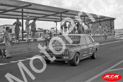 1971 SL Free State 3hr Jan Datsun 1600 Clarrie Taylor Koos Swanepoel 15th (permission Malcolm Sampson Motorsport Photography)