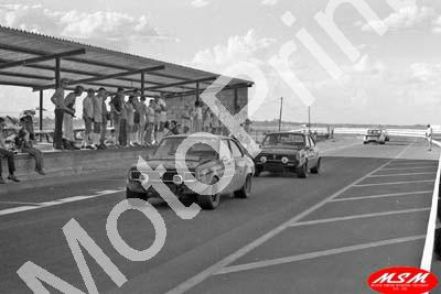 1971 SL Free State 3hr Jan Mazda M10As Jody Scheckter 9th; Colin Burford and Mick Formato 11th (permission Malcolm Sampson Motorsport Photography)(5)