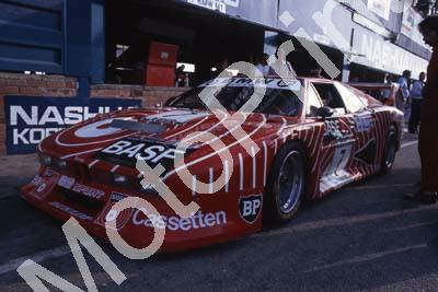 1981 9 hr 7 Hans Stuck Walter Brun BMW M1 (courtesy Roger Swan) (2)