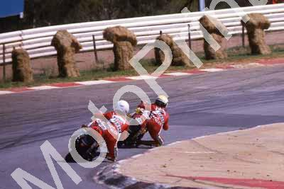 1985 Kya MC Yashica Oggi Jan 503 Russell Wood 508 Jean D' Assonville Yamaha RD350LC's (courtesy Roger Swan) (15)