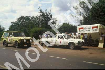 1983 Safari 7 Johnny Hellier, John Hope Peugeot 504 V6 Pick up 14 Rob Collinge, Stuart Pegg Range Rover Mtito Andei control (courtesy Roger Swan) (9)
