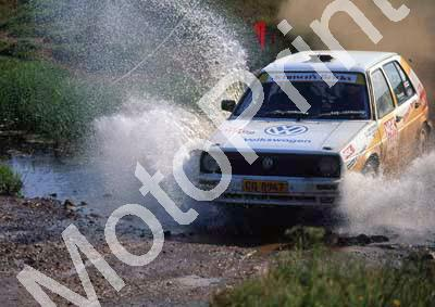 1993 NGK 19 Mark Johnson, Francois Pretorius confirm Golf (courtesy Roger Swan) (12)