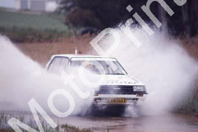 1988 Toyota Dealer Rally 13 Glen Gibbons, Peter Cuffley Conquest NOT PIN SHARP (Colin Watling Photographic) (10)