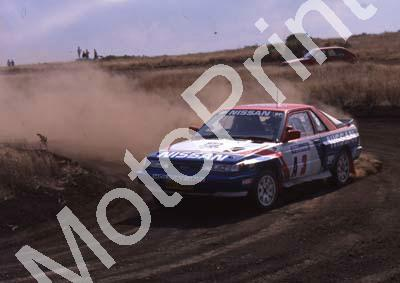 1990 Stannic Mtn A3 Hannes Grobler, Piet Swanepoel Nissan Sentra (courtesy Roger Swan) (112)
