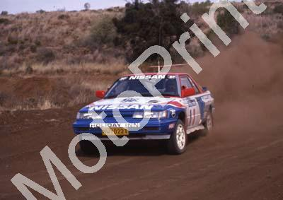 1990 Stannic Mtn A3 Hannes Grobler, Piet Swanepoel Nissan Sentra (courtesy Roger Swan) (114)