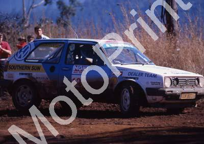 1991 NGK 13 Ralph Chadwick, Mike Constavle confirm Golf(courtesy R Swan) (3)