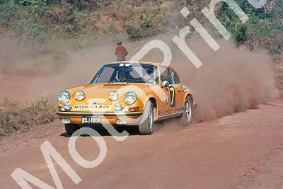 1969 Frans Kirsten Porsche 911, Graham Johnson on special stage
