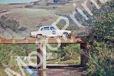 1969 Gericke, Falkner Triumph 2000 on bridge