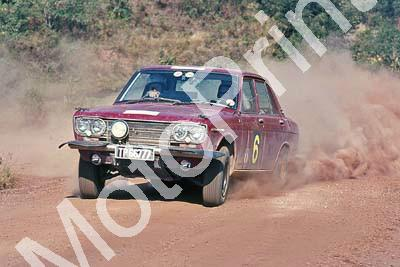 1969 Total Rally Ewald and Minota Van Bergen Datsun special stage