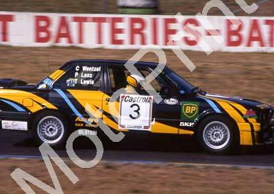 1993 Castrol 9 hr 3 Peter Lanz, Chad Wentzel (in car), Terry Lewis BMW325iS (courtesy Roger Swan) (19)