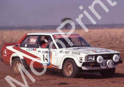 1982 Jurgens 14 Schalk Burger, Wiley Harrington Toyota (Colin Watling Photographic) (5)