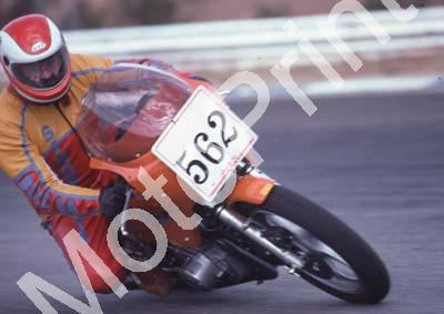 1983 Kya MC 562 Simon Fourie Ginger Laverda Special colour naartjie per programme (Colin Watling Photographic) (11)