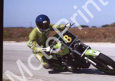 1983 Aldo 8 Brett Hudson Z1000JR (Colin Watling Photographic)