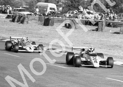 1984 Kya FA 4 Trevor van Rooyen Maurer MM82 1 Ian Scheckter March 832 (Colin Watling Photographic) (62)