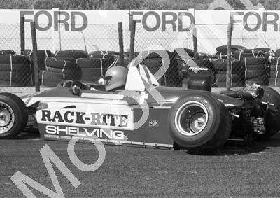 1984 Kya FA 14 Roy Klomfass crash sequence NOTE EXHAUST BURN (Colin Watling Photographic)(14)