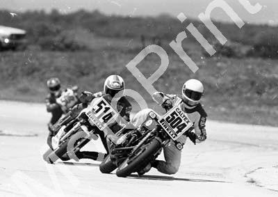 1984 Aldo MC 504 Kevin Hellyer Honda 514 Dave Emond Yamaha (Colin Watling Photographic) (16)
