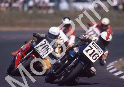 1984 Killarney MC 716 Gavin Ramsay Suzuki ESD compare helmet 706 Glenn Williams Honda (Colin Watling Photographic) (45)