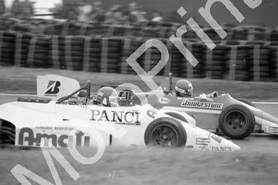 1985 Silverstone F3000 22 Lamberto Leoni Williams FW08C confirm 1 Mike Thackwell Ralt RT20 (Colin Watling Photographic) (68)