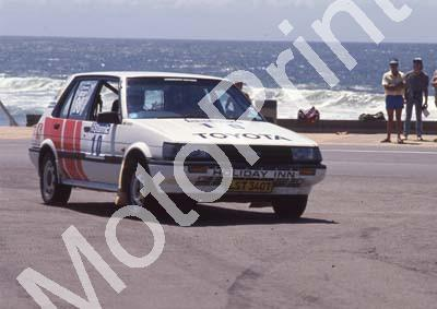 1988 Stannic Cape Gp N rally 10 Mike White,.....Toyota (Colin Watling Photographic) (19)