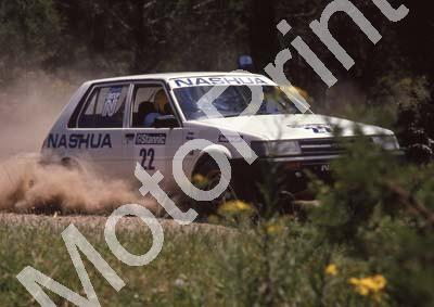 1988 Stannic Cape Gp N rally 22 Leon Botha, ....Toyota (Colin Watling Photographic) (23)