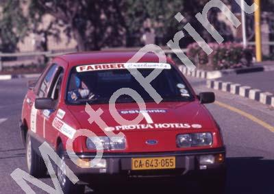 1988 Stannic Cape Gp N rally Oct 1 Vic Procter, Keith Botwood Sierra (Colin Watling Photographic) (64)