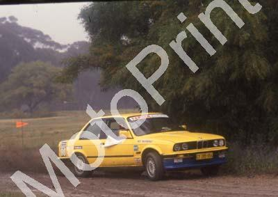 1988 Stannic Cape Gp N rally Oct Nick Mauerberger, Roel Bester, BMW ex Proteam (Colin Watling Photographic) (64)