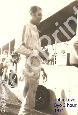 John Love pits Bulawayo 3hr 1971 courtesy G Faasen
