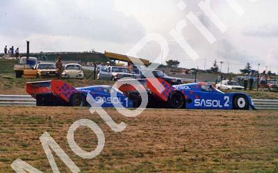 Joest Porsche 962s #1 Ludwig # 2 Wollek Yellow Pages 500 (Thanks to Colin Burgess) - Click Image to Close